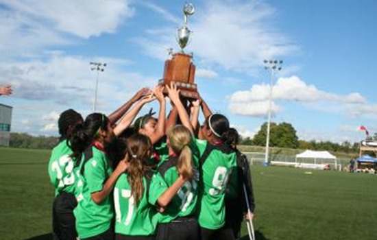 Under 13 Girls Final - Erin Mills Eagles